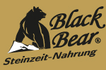 Logo allemand Black Bear fond doré