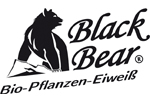 Black Bear Eiweiß Logo Deutsch