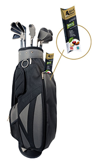 Golfbag mit Black Bear